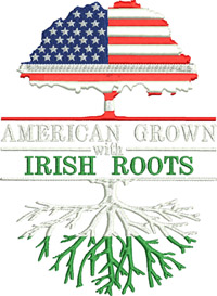 Irish Roots-Irish Roots, Ireland, Irish embroidery, machine embroidery, Irish designs,