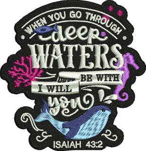 Isaiah-Isaiah, Christian, Bible, machine embroidery