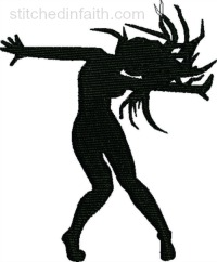 Jazz Dancer-Jazz Dancer embroidery, Jazz machine embroidery, Dance embroidery, Dancing embroidery, Jazz embroidery, Jazz Dancer, machine embroidery designs, stitchedinfaith.com