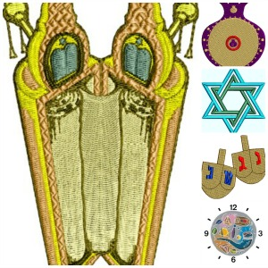 Jewish Collection Of Favorite Symbols
