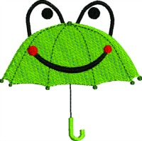Childrens umbrella-Umbrella childs umbrella children designs machine embroidery stitchedinfaith.com raining