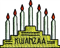 Kwanzaa candles-Kwanzaa Kwanzaa machine embroidery Kwanzaa candles holiday embroidery Africa holiday stitchedinfaith.com