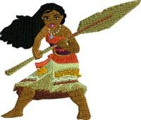 Mauna-Mauna, princess, machine embroidery, embroidery,