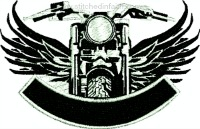 Motorcycle Name Patch