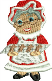 Mrs Clause Gingerbread-Mrs Clause