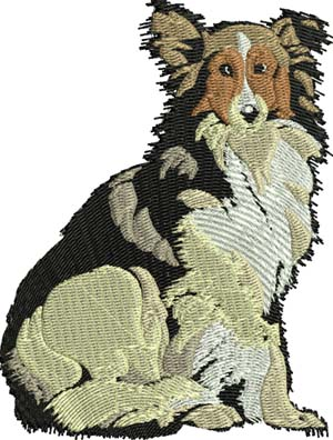 My collie-Collie, dog, animals, dogs, collies, machine embroidery, embroidery designs