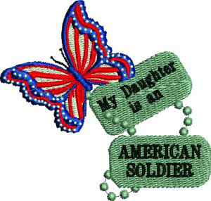 My Daugher Is An American Soldier