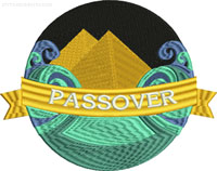 Passover-Passover, Passover embroidery, Machine embroidery, Jewish Holiday embroidery, Religious holiday, Jewish embroidery, Judaism, stitchedinfaith.com