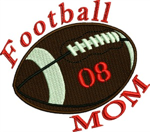Football Mom personalized