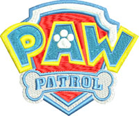 Paw Patrol-Paw Patrol, machine embroidery, Childrens embroidery, embroidery,