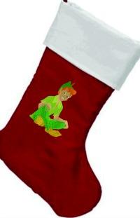 Peter Pan Personalized Christmas stocking