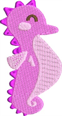 Pink Baby Seahorse