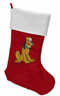 Personalized Pluto Christmas Stocking