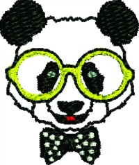 Polka Dot Panda-MACHINE EMBROIDERY PANDA BEARS PANDA BEAR POLKA DOTS ZOO ANIMALS ANIMALS BEARS STITCHEDINFAITH.COM