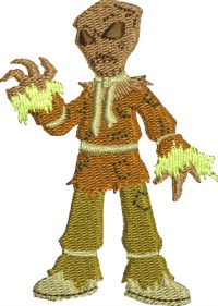 Potato sack scarecrow
