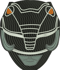 Power Rangers Mask-Power Rangers, Ranger mask, machine embroidery, embroidery, childrens embroidery