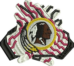 Redskins gloves