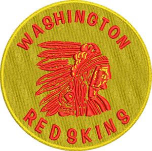 Redskins vintage logo-machine embroidery, Redskins,vintage, logo,sports, football, embroidery designs