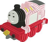 Rosie-Rosie, Thomas the train, machine embroidery, embroidery, embroidery for kids