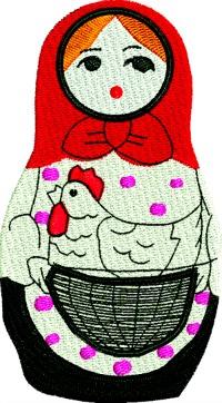 Russian Nesting Doll 6