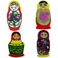 Russian Nesting dolls set 1