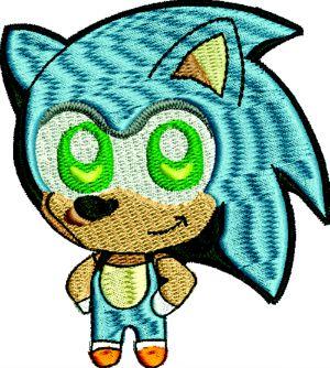 Chibi Sonic Japanese Doll