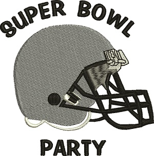 Football Super Bowl Party Helmets