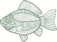 Silver Art Fish