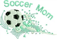Soccer Mom with Stars