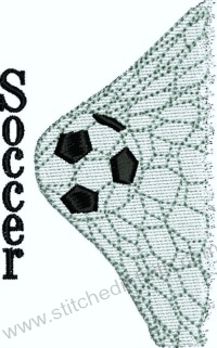 Soccer Net-Soccer embroidery, Soccer Life, machine embroidery, soccer designs, stitchedinfaith.com