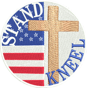 Stand Kneel-USA, Stand, Kneel, protest, United States, Government, Cross