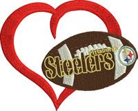 Steelers Heart