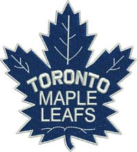 Toronto maple leafs-Toronto maple leafs, hockey, Canada, sports, sports embroidery,Toronto