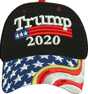 Trump hat-Trump, hat, baseball cap,Republican, elections,president,vote,voters, machine embroidery
