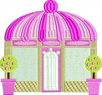 Pink Victorian Store-Store victorian victorian shop building shops retail store stitchedinfaith.com machine embroidery embroidery
