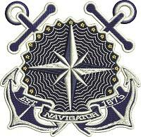 Vintage Nautical Mariners Compass