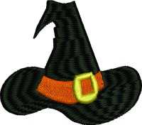 Witch hat-Witch hat witch machine embroidery Halloween costume embroidery holiday stitchedinfaith.com