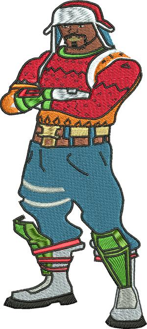 Yuletide Ranger-Ranger, Yuletide, Character, fort nite, games, skins