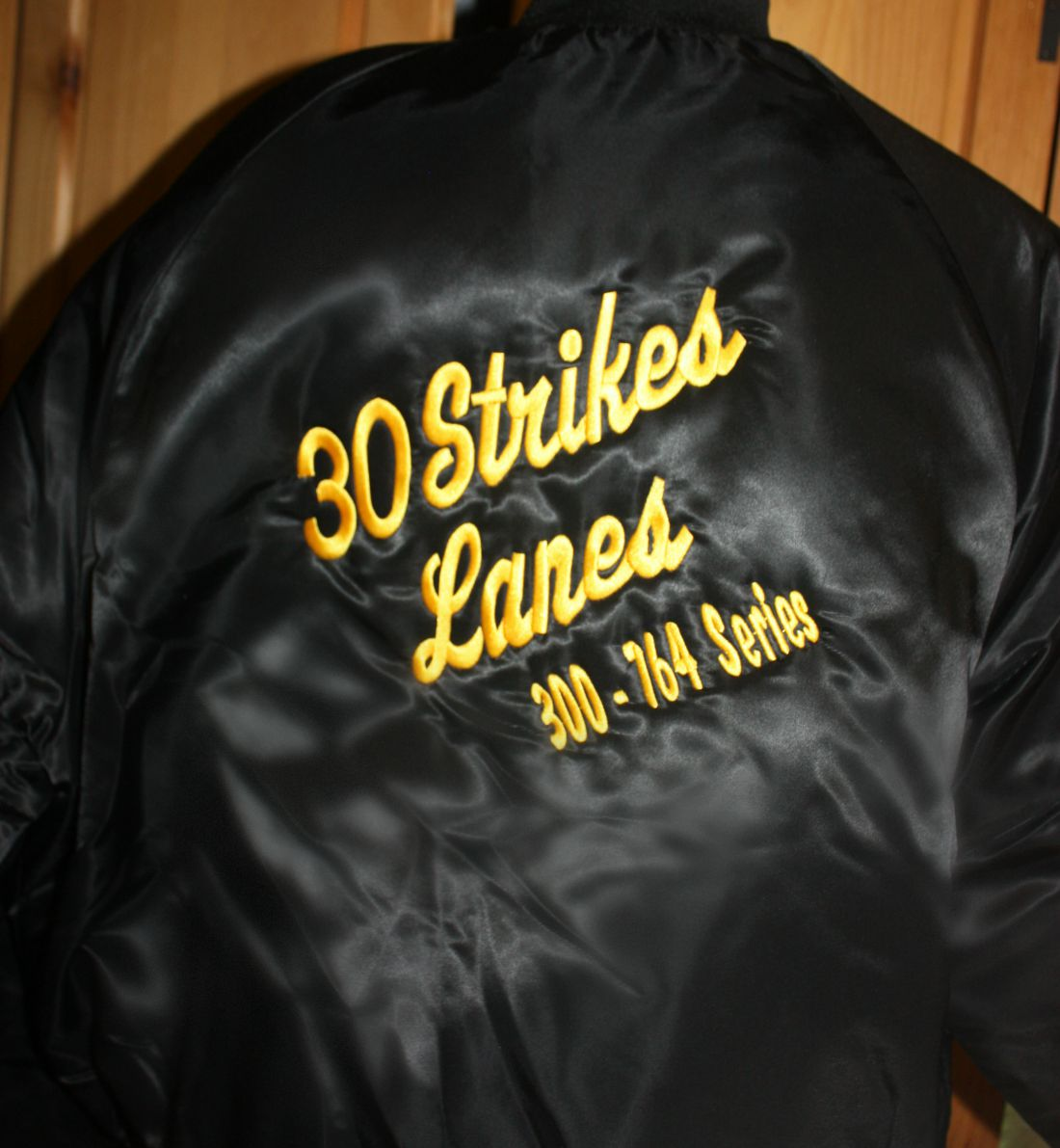 Bowling Jacket Example Embroidered