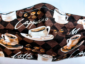 Coffee Espresso Face Mask-Face Masks, coffee, espresso