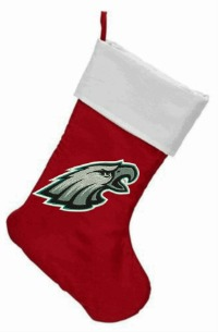 Embroidered Eagles Christmas Stockings