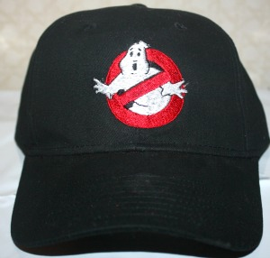 Ghostbuster Hat-Ghostbusters hat embroidered hat.