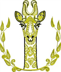 Deer Gold Work