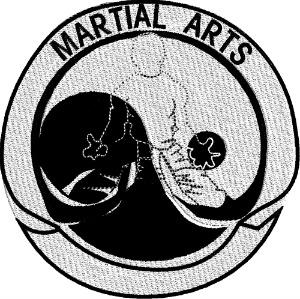 Martial Arts Logo-Karate gi machine embroidery logo embroidery martial arts