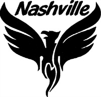 Nashville-Tennessee machine embroidery logos state logo embroidery
