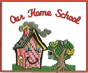 Our Home School Machine Embroidery
