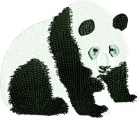 Poppa Panda Bear-machine embroiderypoppa bear poppa panda panda bears