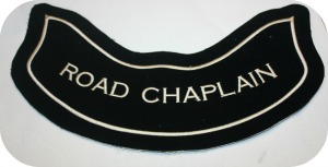 Road Chaplain Pre-made Velvet Patch