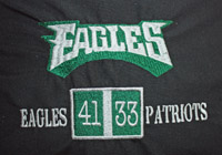 Eagles Championship score board pocket stadium pillow-Eagles, pillow, stadium,reading,pocket pillow, sport, football