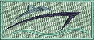 Speedboat4  In Frame-Speedboat machine embroidery embroidery bargain embroidery